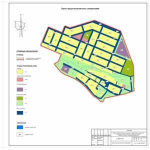 ПЗЗ-4 Давлетово градостроительное зонирование